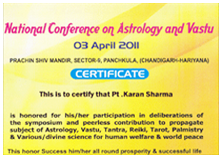 Astrology and Vastu Specialist Karan Sharma